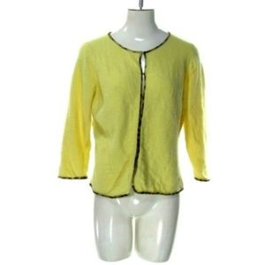 Banana Republic Women's XLarge Yellow Blouse Top